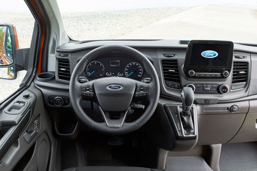 Ford Transit Custom 2018 interior.