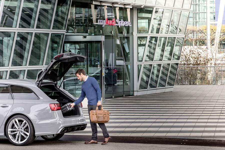 Audi on demand Munich Airport.