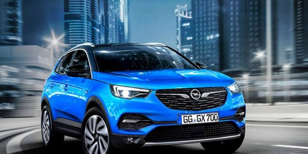 El Opel Grandland X se va de compras por Amazon