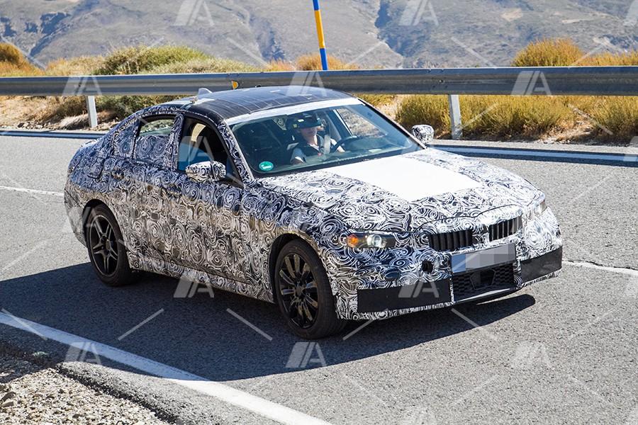 El futuro BMW M340i cazado por espías