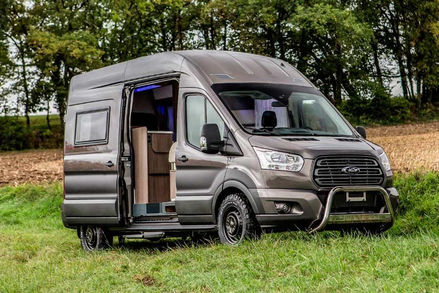 Una Ford Transit para acampar donde quieras