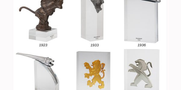Una colección de los leones de Peugeot repasa la historia de la marca
