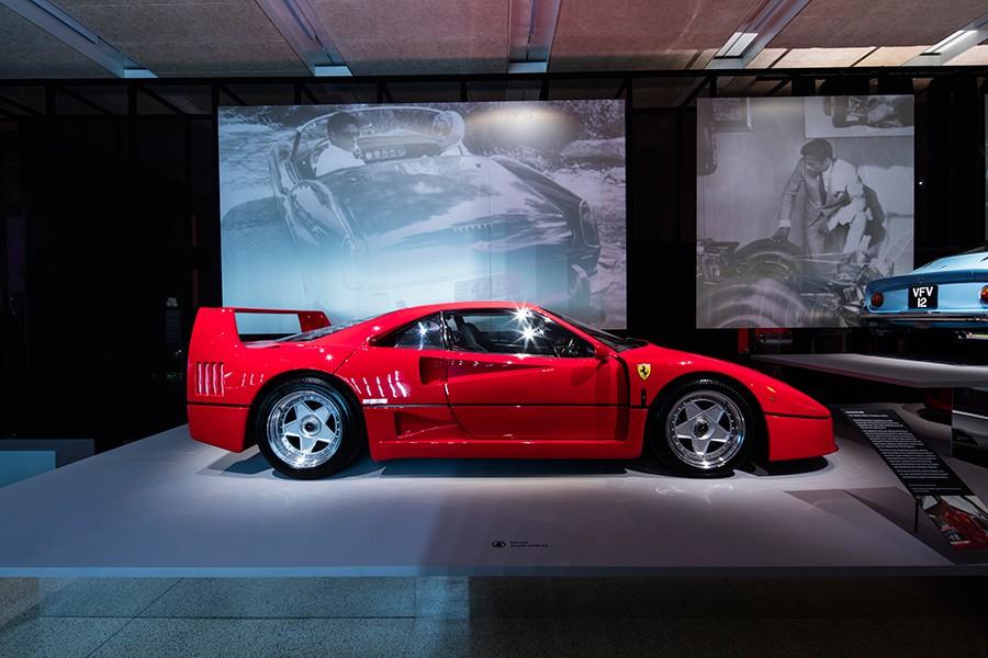 Homenaje a Ferrari en el Museo de Diseño de Londres