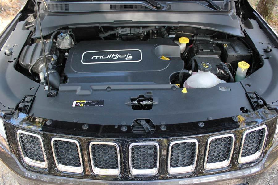 Motor Multijet II diésel de 140 CV.