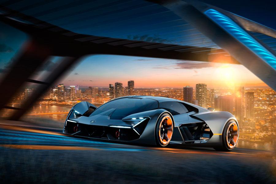 Lamborghini Terzo Millenio, el superdeportivo eléctrico del futuro