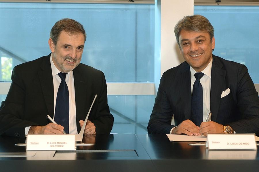 Presidente de Telefónica España.