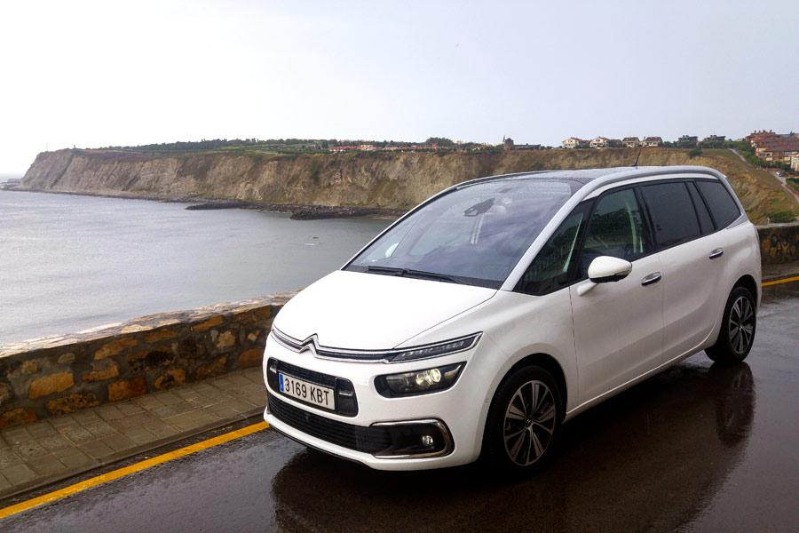 El Citroën Grand C4 Picasso es un coche perfecto para largos viajes.