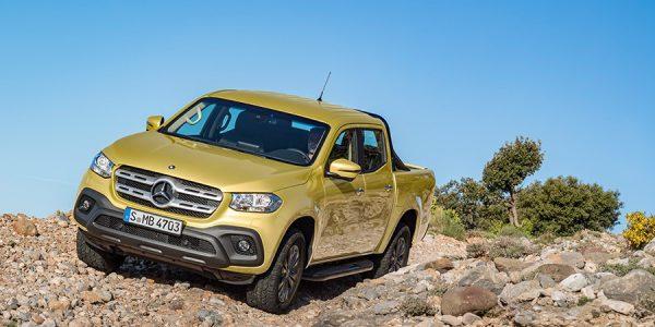 El Mercedes Clase X se convierte en un titán del desierto