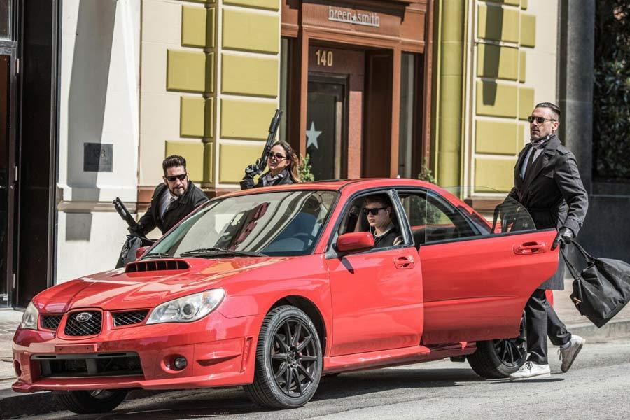 Sin el Subaru WRX STi, el protagonista sería incapaz de esquivar a sus perseguidores.