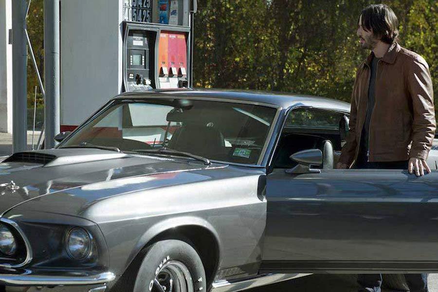 Un Ford Mustang del 69 es el bien más preciado de john Wick.