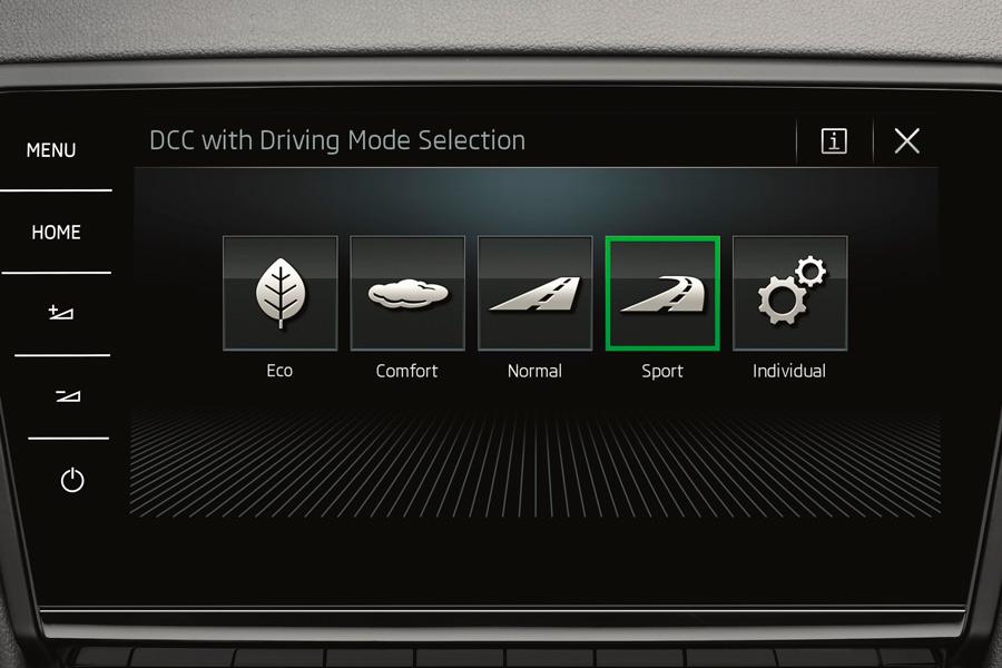 Esta versión cuenta con selector de modos de conducción.