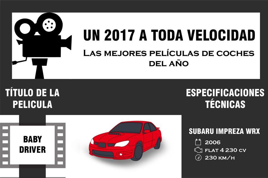 Las 5 mejores películas de coches del 2017
