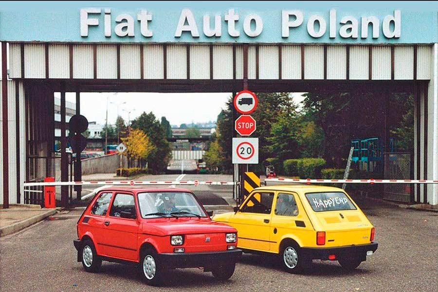Fiat 126. Fábrica Polonia.