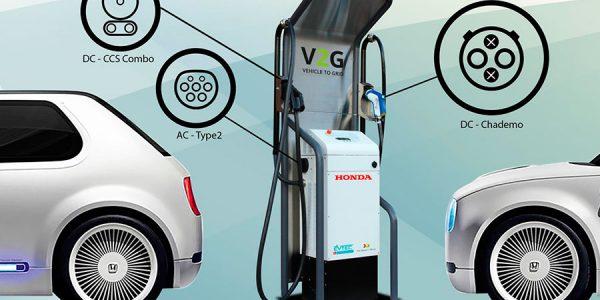 Sistema bidireccional de Honda para cargar el coche