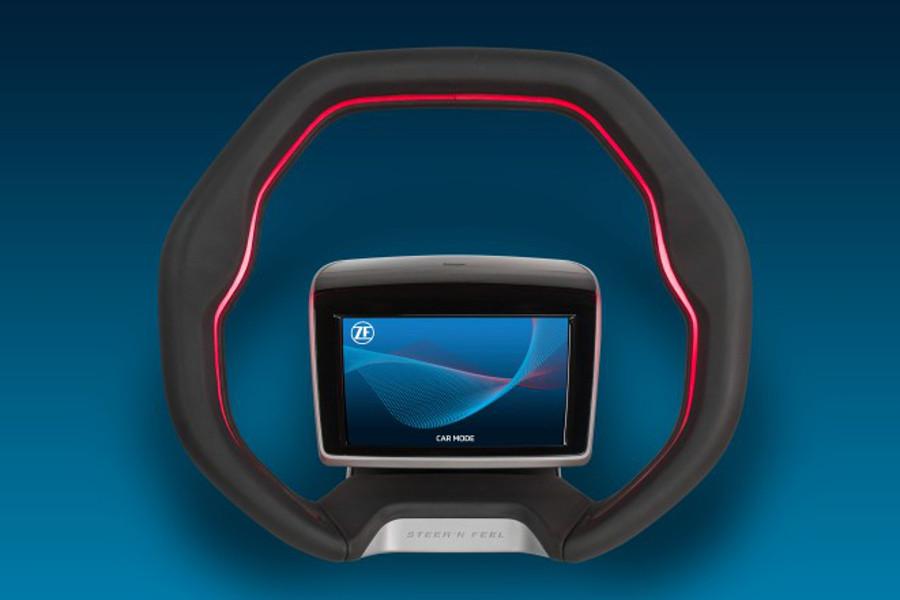 ¿Será así el volante del futuro?