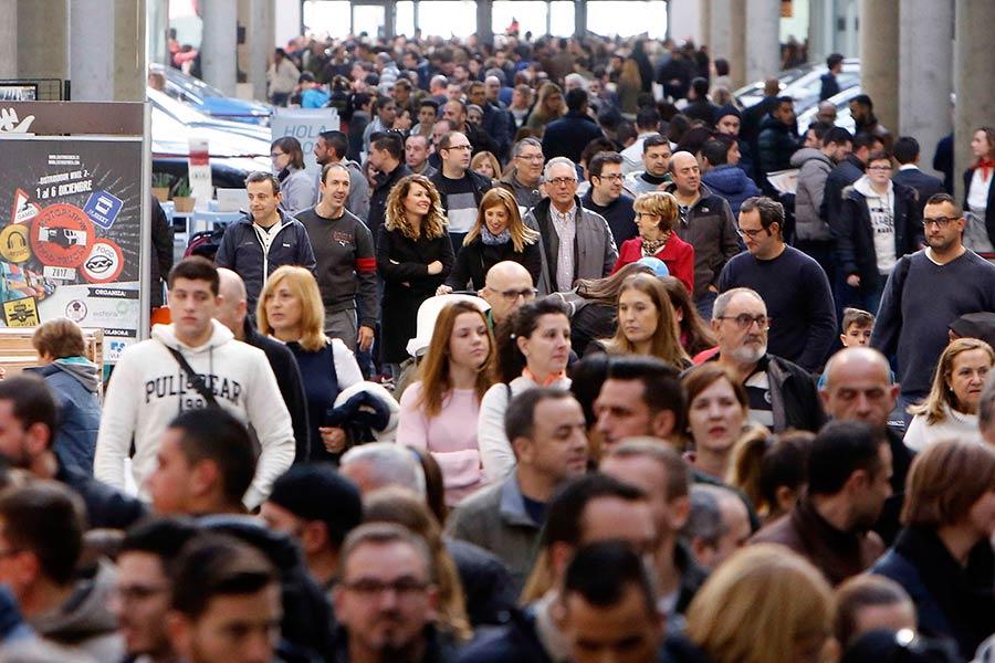 Exitoso fin de semana de la Feria del Automóvil de Valencia