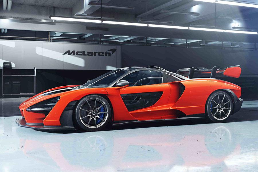 Todos los McLaren en un vídeo de 5 minutos