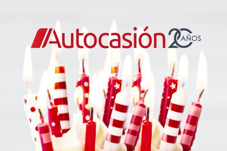 Autocasión celebra su 20 aniversario: ¡Gracias por acompañarnos en este viaje!