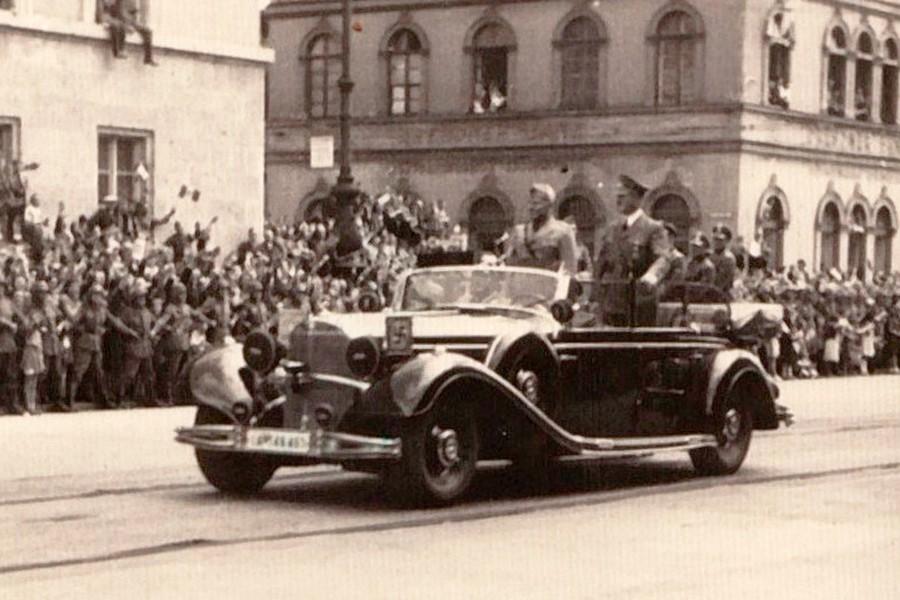 ¿Cuánto pagarías por el coche de Hitler?