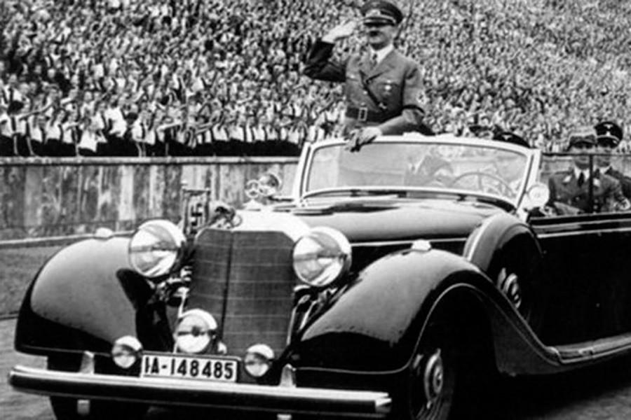 Hitler utilizó en muchos desfiles esta unidad.