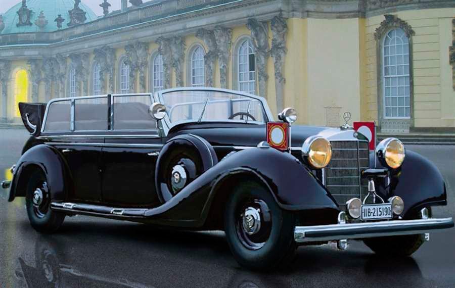 El 770 Grosser era el más grande y lujoso de los Mercedes.