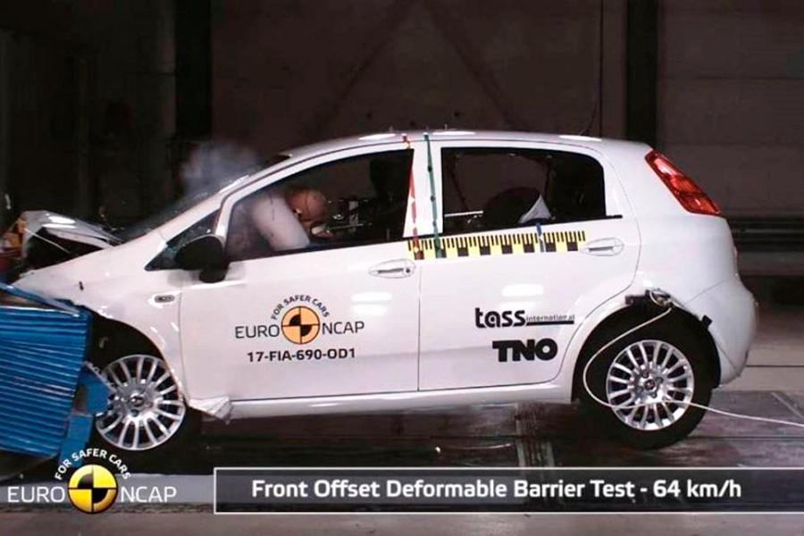 El peor coche en la historia de EuroNCAP