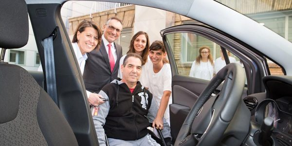 Opel Crossland X, el SUV del Hospital Miguel Servet