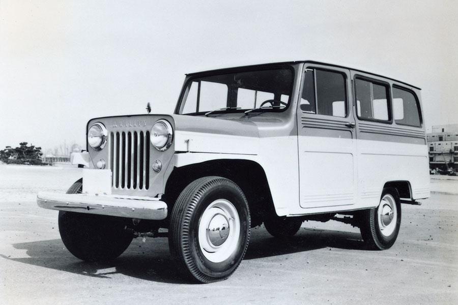 Jeep J3. Un todoterreno robusto y elegante.