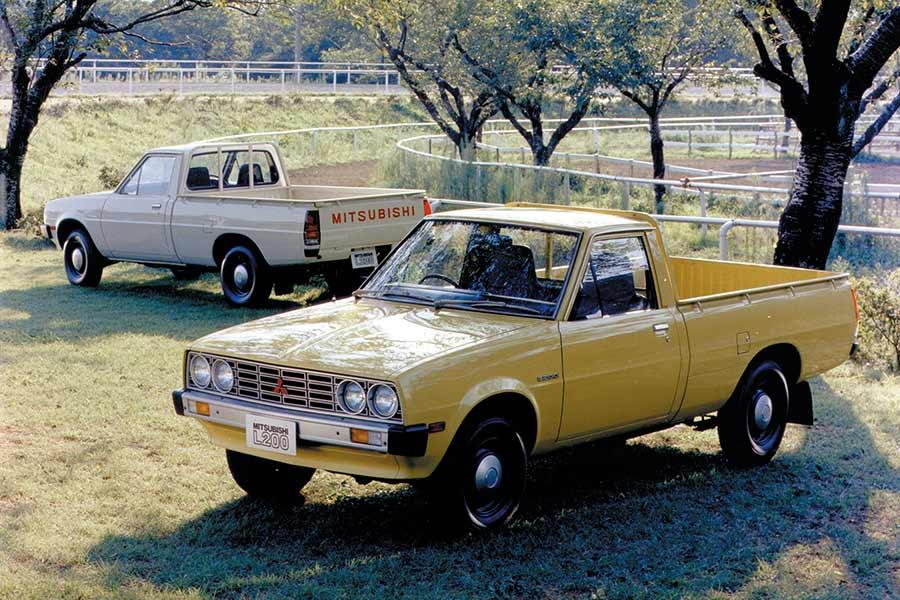 La pick-up de Mitsubishi. La L200.