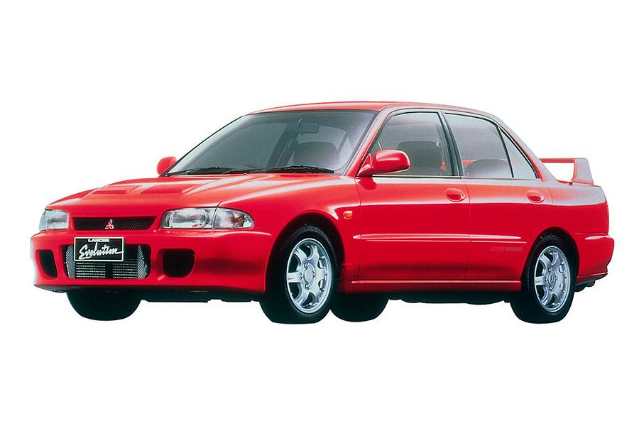 Mitsubishi Lancer Evolution de 1992.