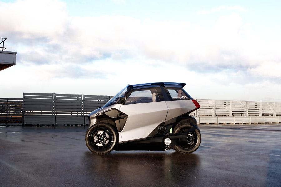 Lo nuevo de PSA: entre el Twizy y una scooter de tres ruedas