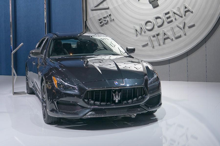 Maserati Quattroporte Nerissimo Los Ángeles 2017