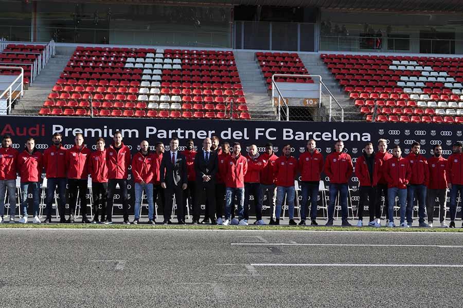 ¿Quién habrá elegido el coche más rápido del Barça?