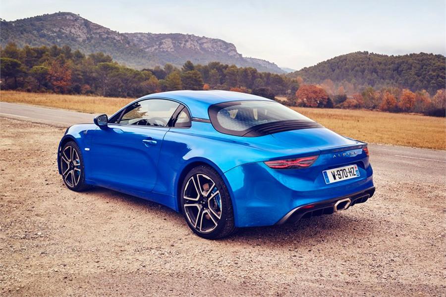 El nuevo A110 se parece muchísimo al modelo original.
