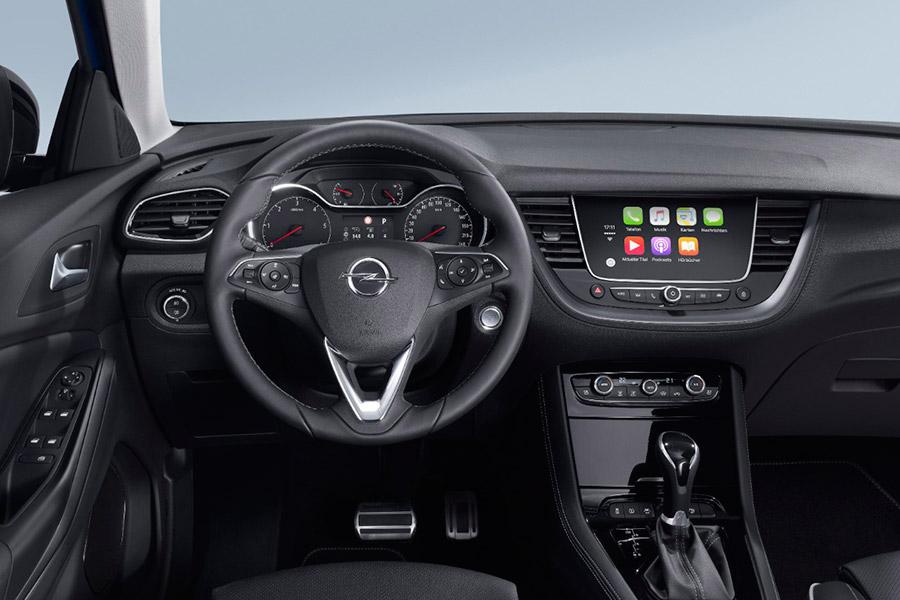 Interior Opel Grandland X.