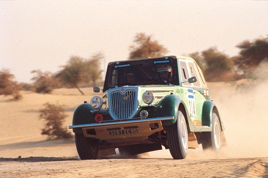 Réplica del PX33 que participó en Dakar.