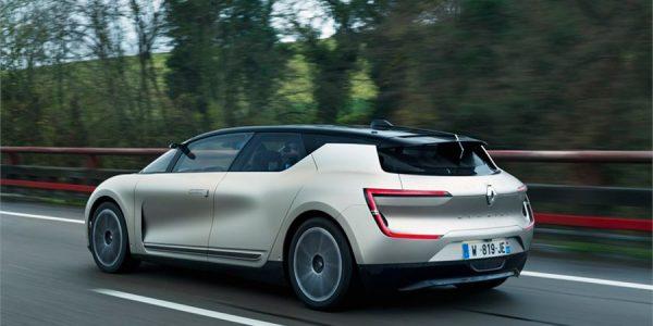Renault Symbioz: el coche eléctrico, autónomo e inteligente