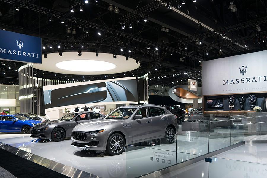 Las novedades más negras de Maserati en Los Ángeles 2017