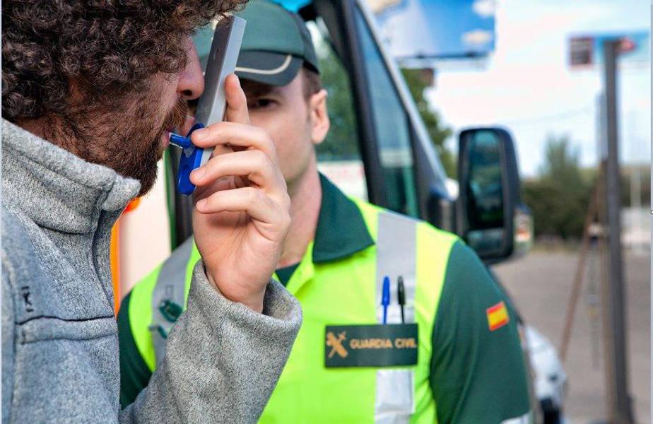 Detectados 300 conductores cada día bajo los efectos de alcohol y drogas