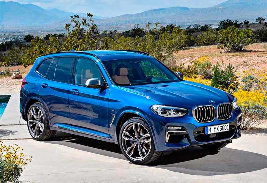 En el aspecto del diseño, BMW ha apostado por dotar de mayor impresión de robustez a su nuevo X3.