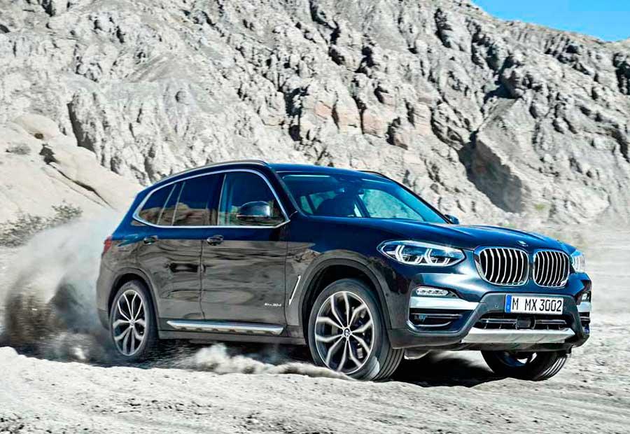 El nuevo BMW X3 no olvida que es un SUV y que puede salir del asfalto con garantías.