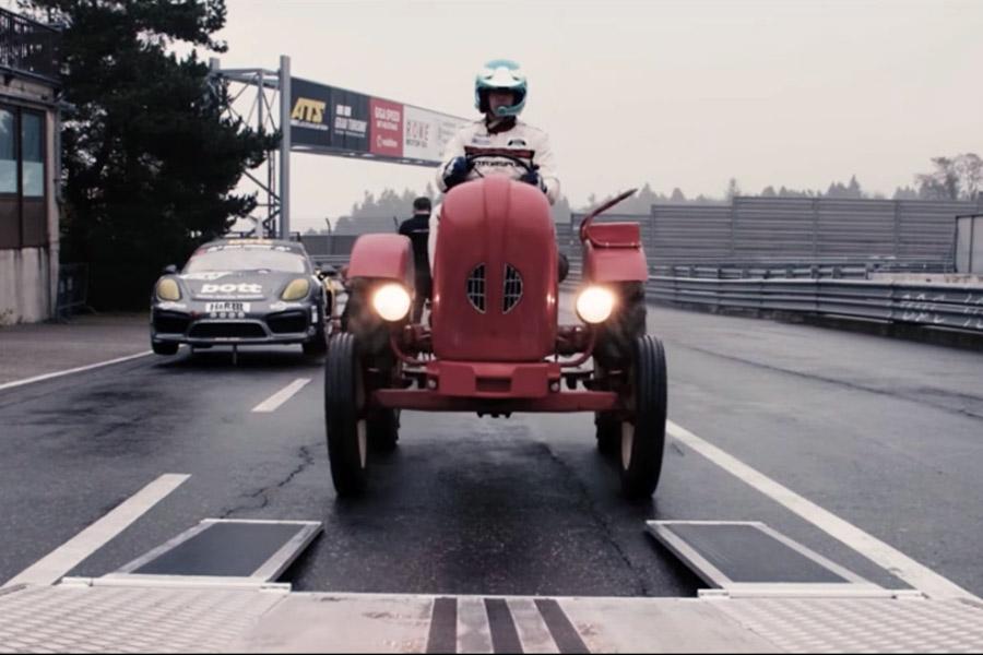 El tractor de Porsche se corona en Nürburgring