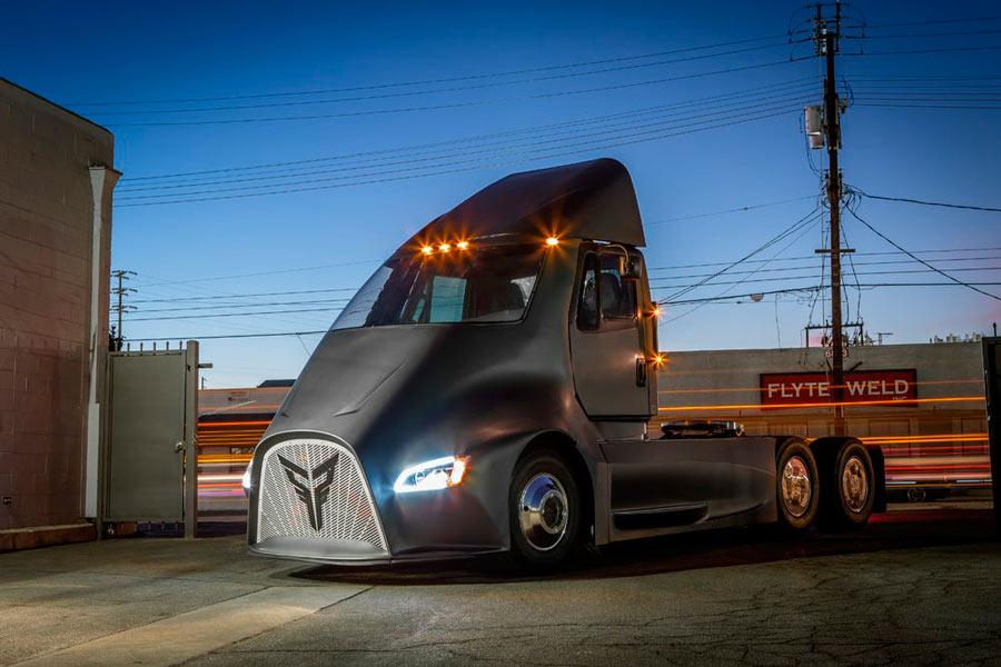 Thor Trucks ET-One nace para rivalizar con el camión de Tesla