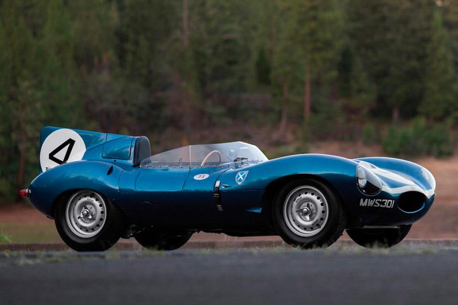 Jaguar D-Type 1955.