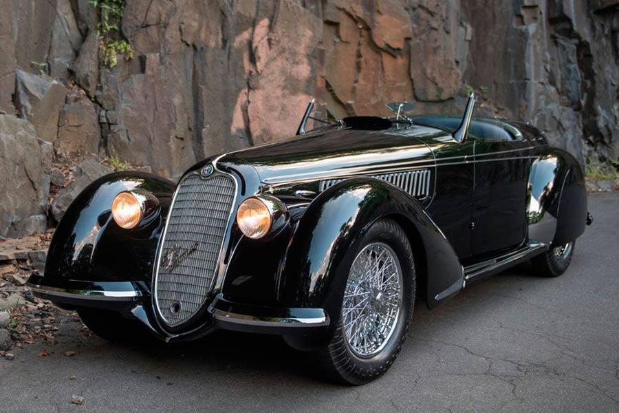 Alfa Romeo 8C 2900B Lungo Spider by Touring 1939.