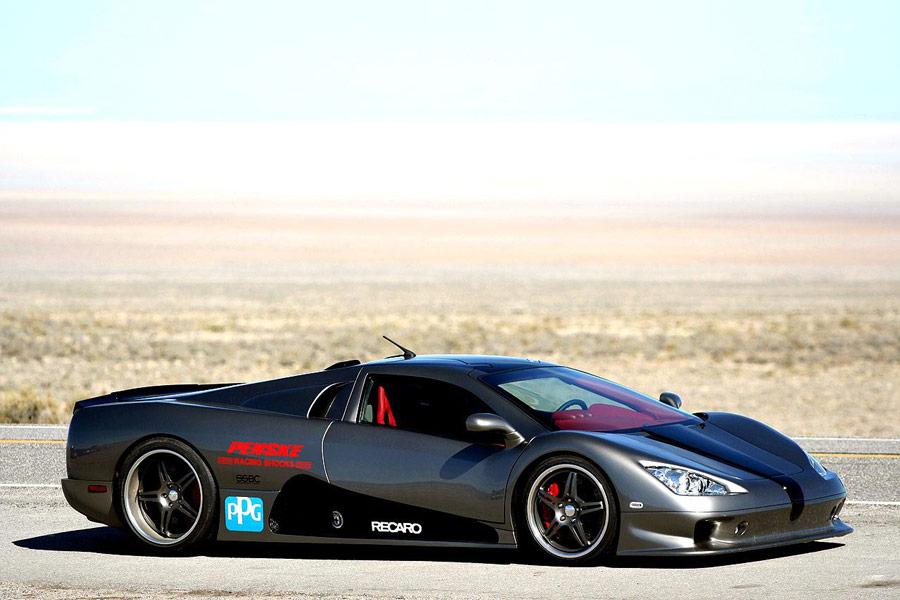 El SSC Ultimate Aero TT en 2007 logró el récord con sus 412 km/h de punta.