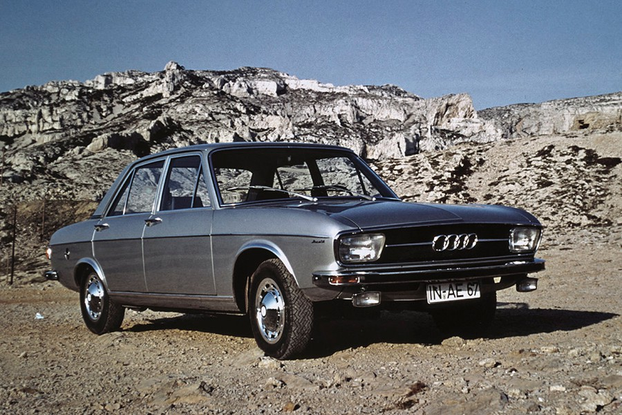 Con el lanzamiento de este modelo volvió a la luz el nombre de Audi.