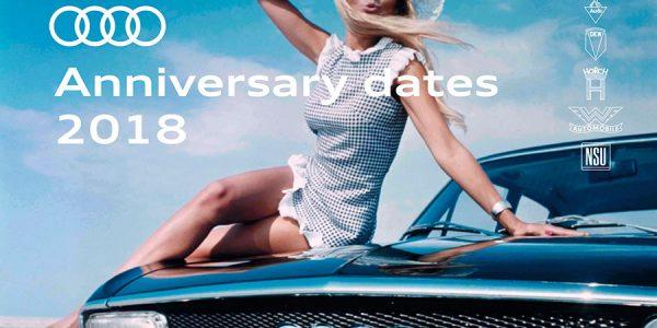 Audi celebra el 50 aniversario de su renacimiento en 2018