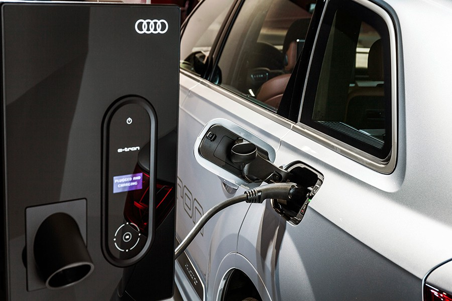 Audi investiga una red eléctrica inteligente