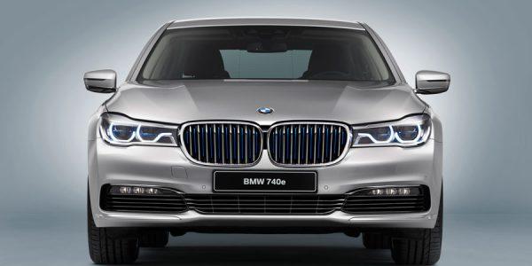 BMW 740e iPerformance 2018: más potencia y autonomía